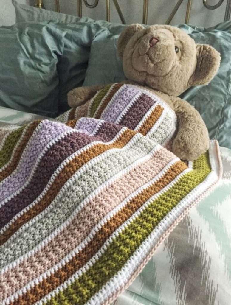 The Bellame Baby Blanket Crochet Pattern