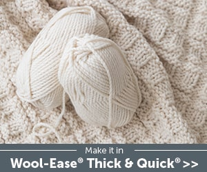 Lion Brand Wool-Ease Yarn Banner