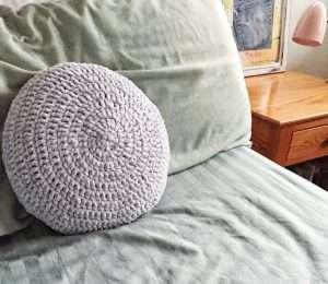 Retro Velvet Crochet Pillow Pattern