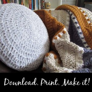 Download, Print and Make the Crochet Pattern
