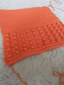 Sewing a Crochet Pillow Tutorial