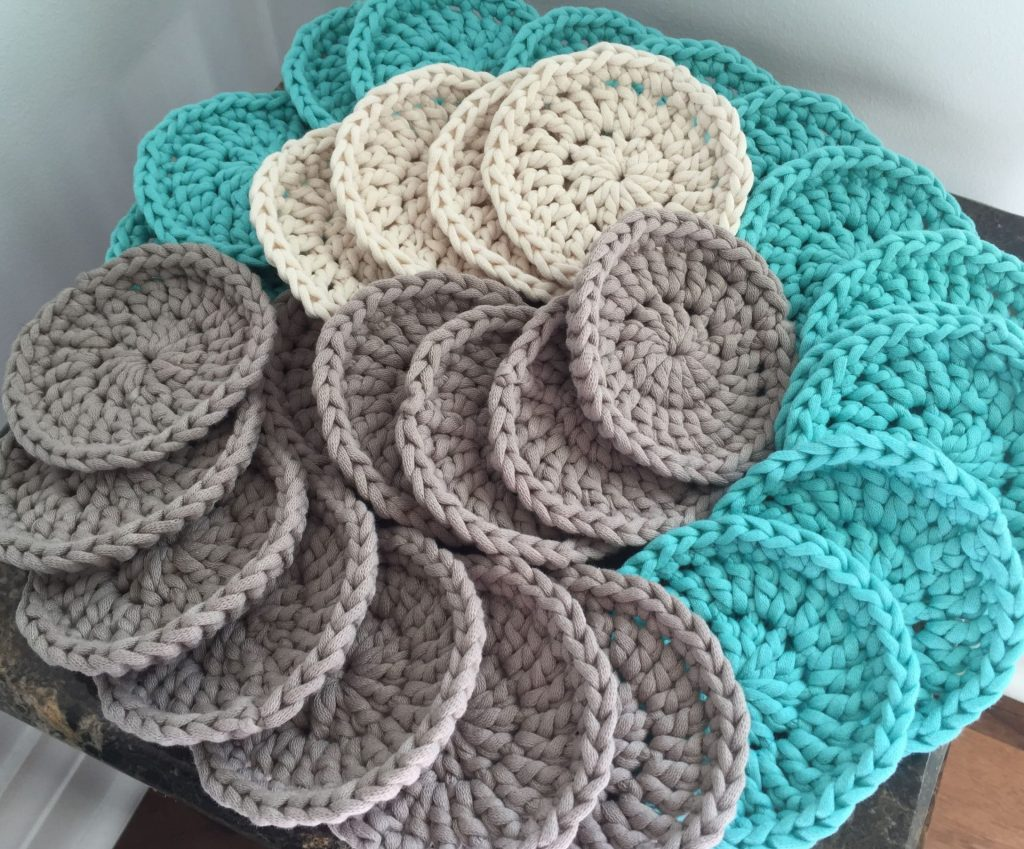 Easy Crochet Face Pads Free Pattern