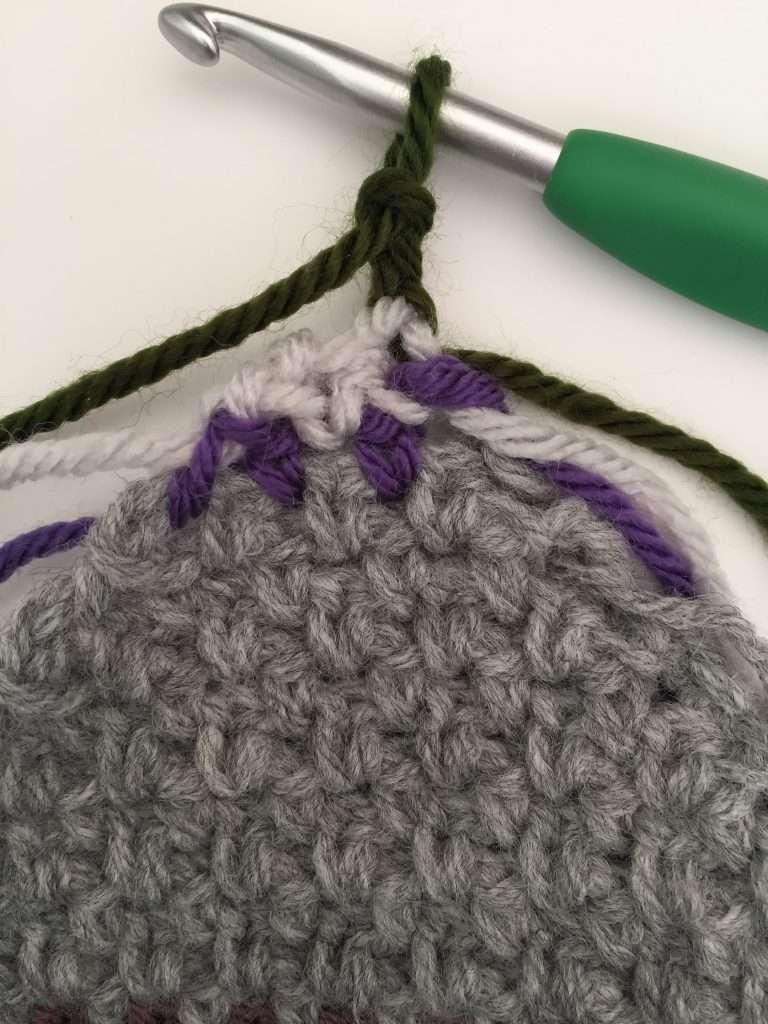 Corner Decrease in Crochet