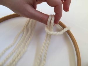 Pull the Yarn through the Loop