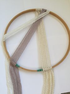 Top Section of a Macrame Design
