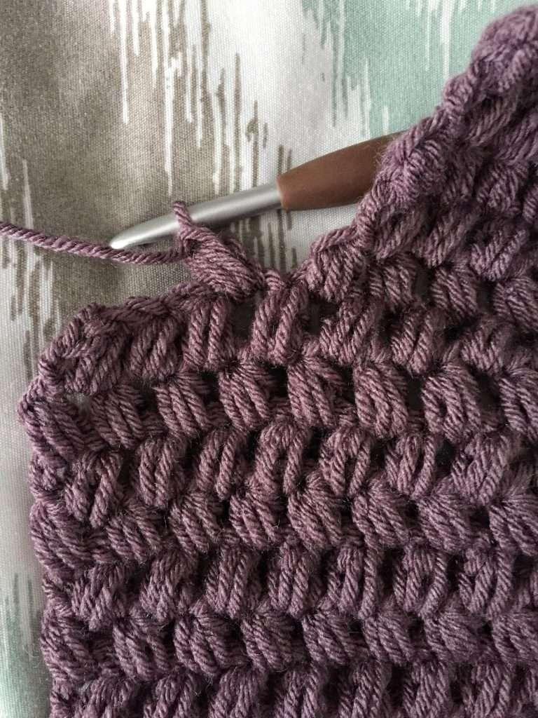 Attaching a Puff Stitch