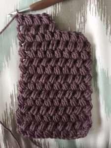 Twisted Puff Stitch Headband Pattern