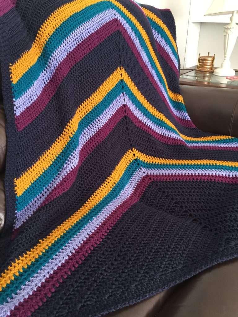 The Summer Nights Crochet Blanket Pattern