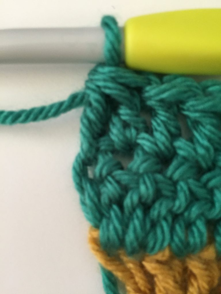Double Crochet 2 Together