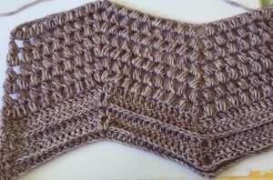 Crochet Chevron Swatch