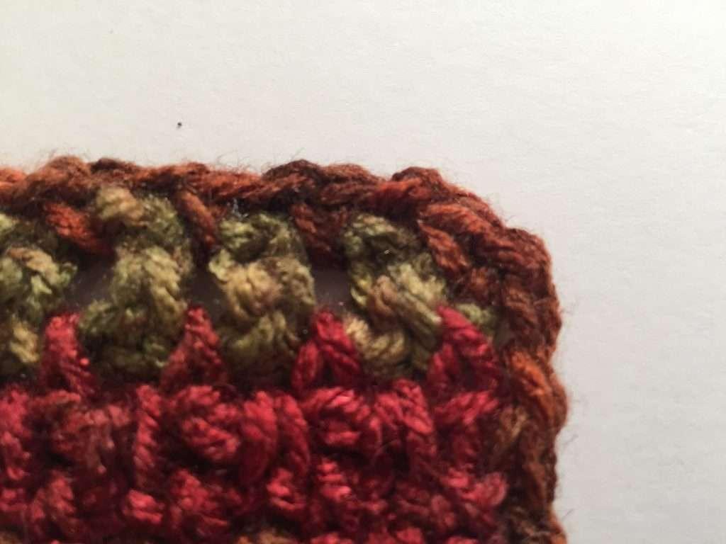 Crochet Scarf Border