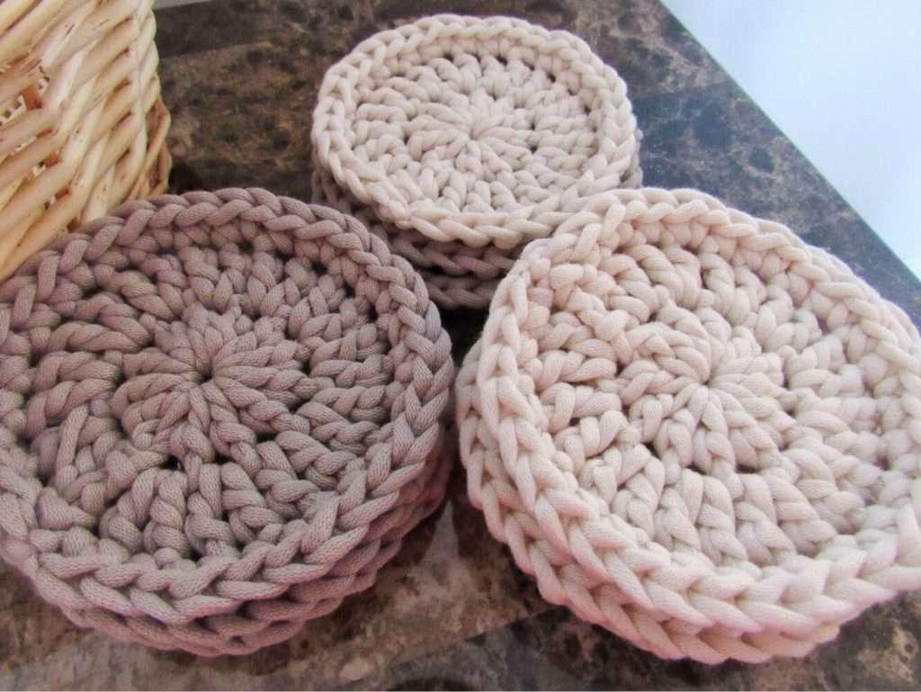 Reusable Cotton Crochet Pads