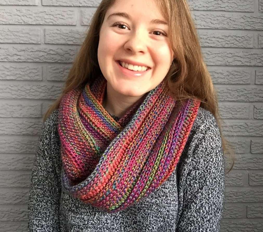 Crochet Infinity Scarf Free Crochet Pattern