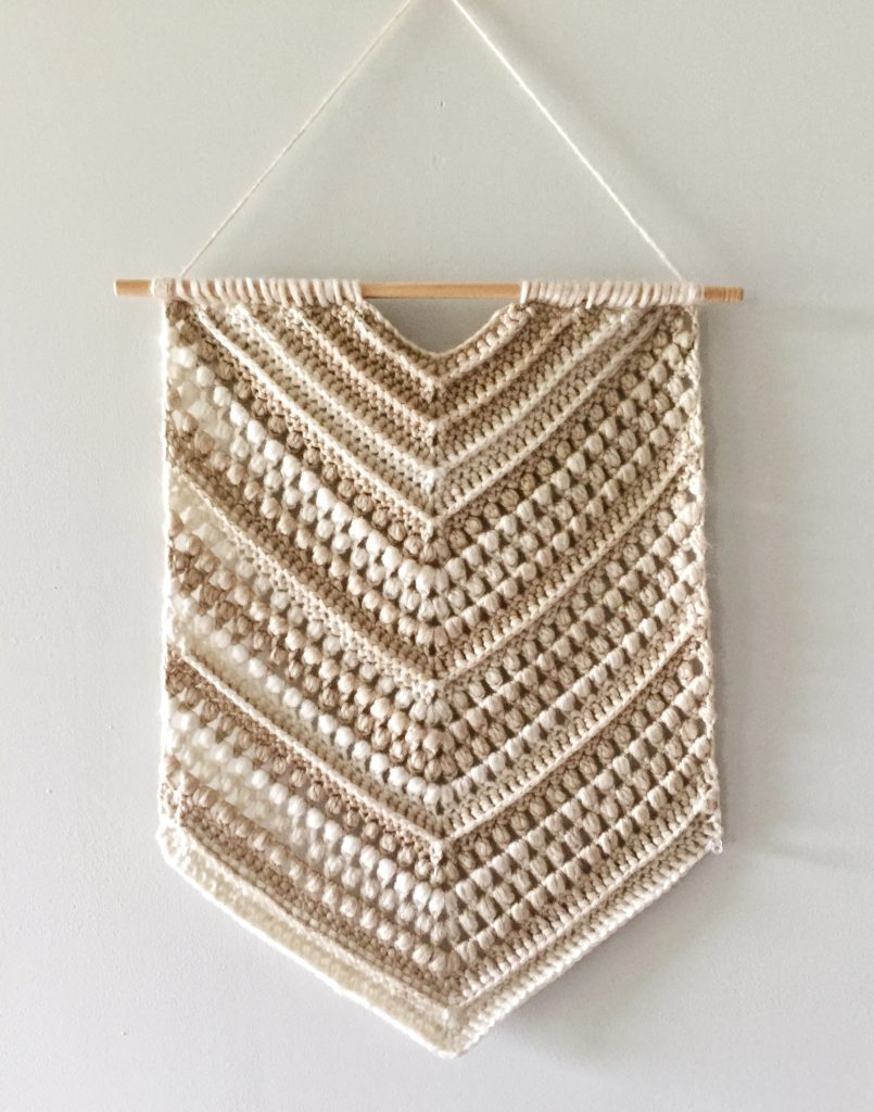 Boho Crochet Wall Hanging Free Pattern