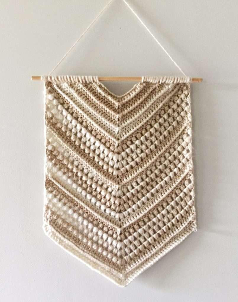 Boho Crochet Wall Hanging Free Pattern