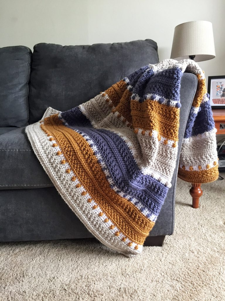 For the Love of Texture Crochet Blanket Pattern