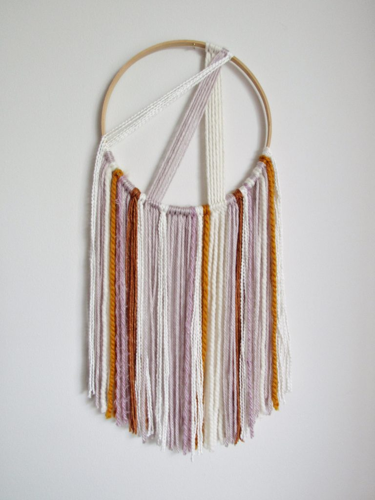 Modern Boho Macrame Wall Hanging DIY Tutorial