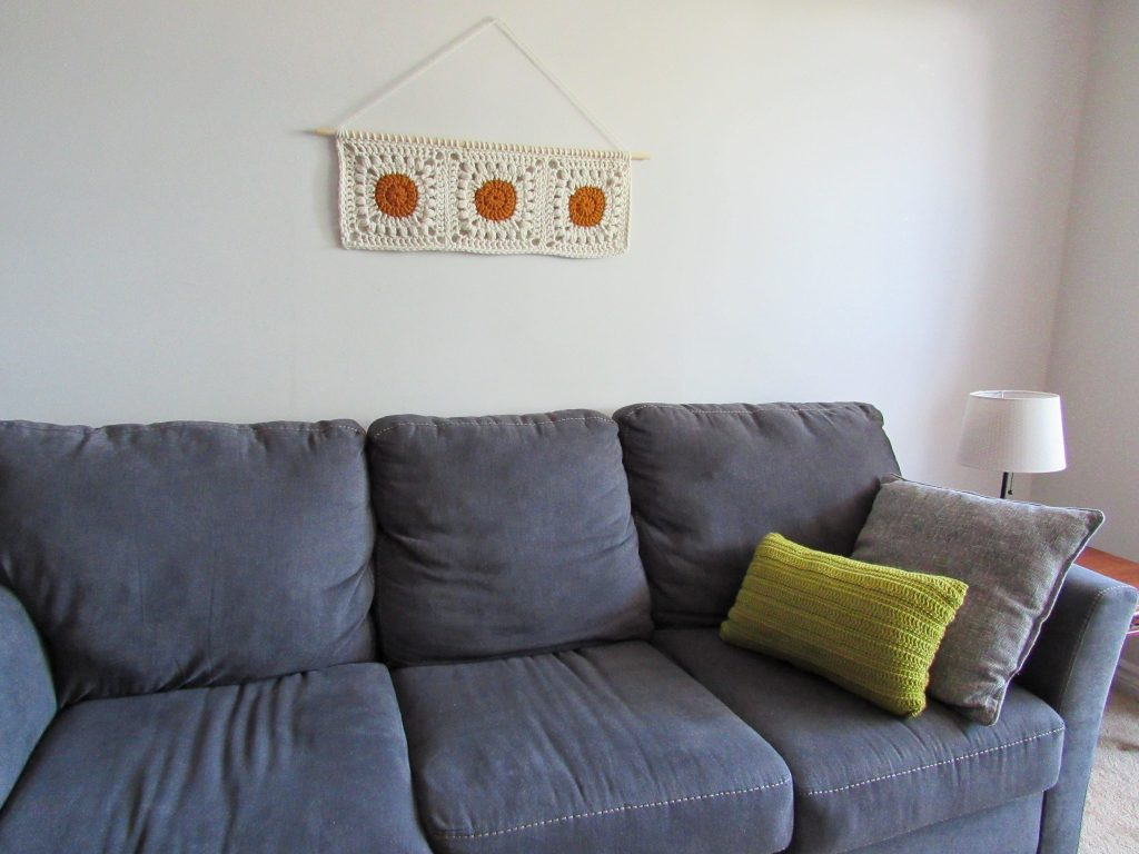 Soak up the Sun Crochet Wall Hanging Free Pattern