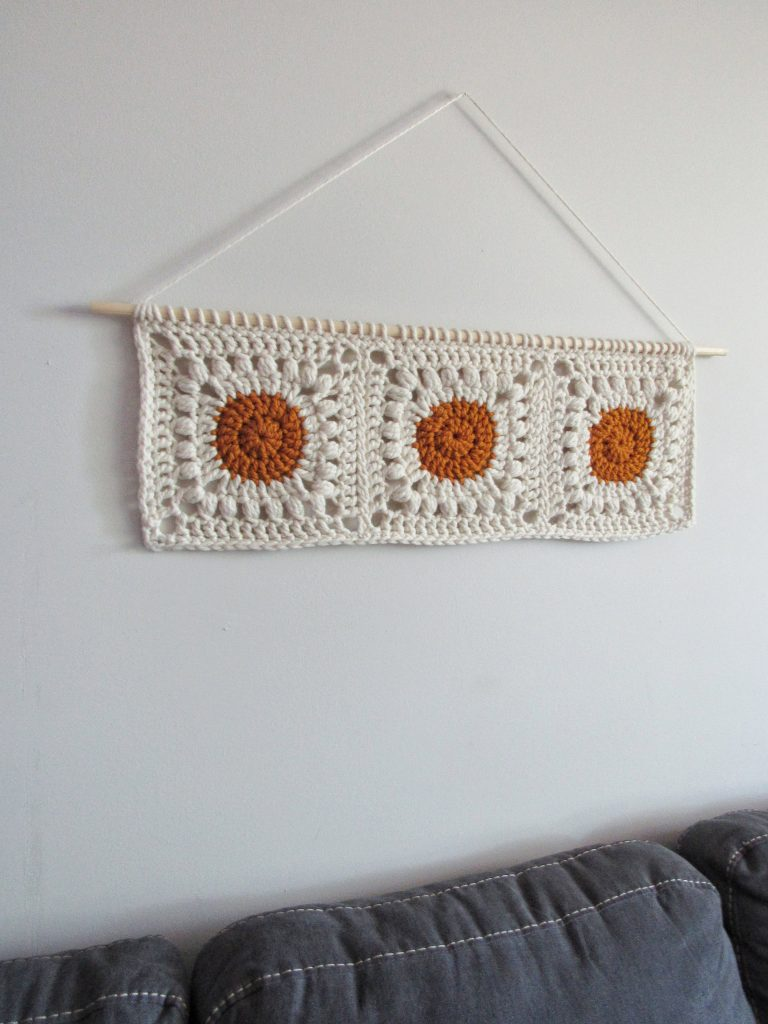 Boho Crochet Wall Hanging Free Crochet Pattern