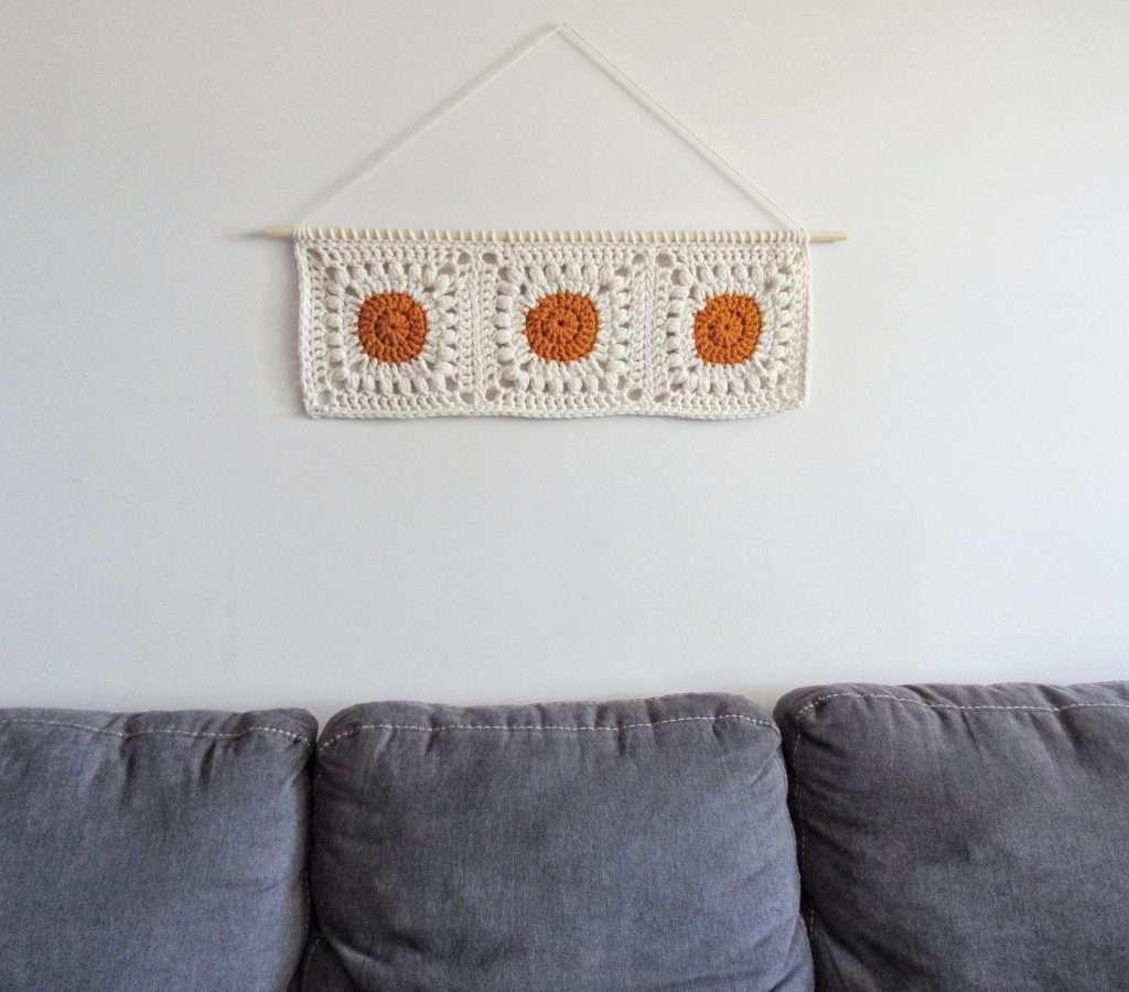 Crochet Wall Hanging Boho Style Free Pattern