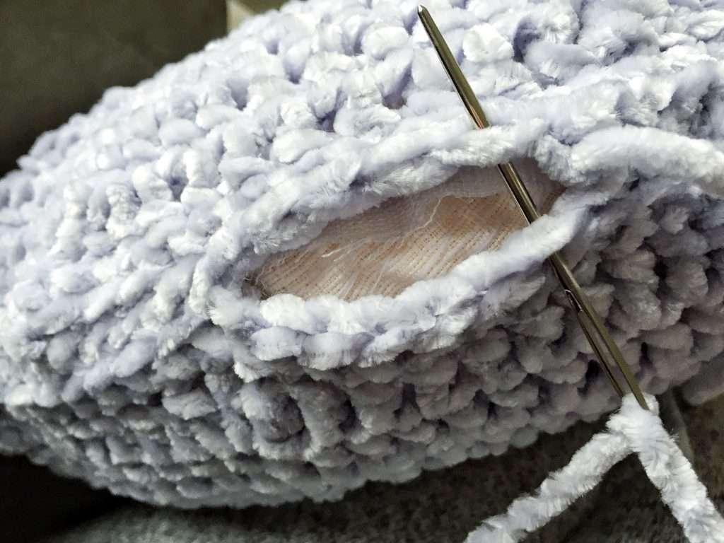 Sewing a Circular Pillow