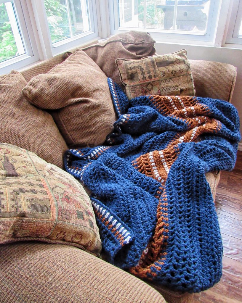 Crochet Blanket for Beginners Free Pattern