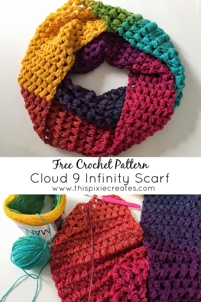 The Cloud 9 Infinity Scarf Pinterest Pin