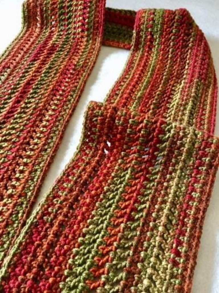 Crochet Scarf for Beginners Free Pattern