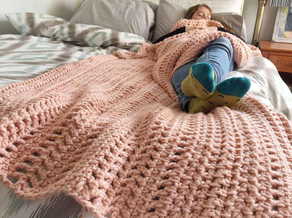 Mountain Mama Crochet Blanket Pattern