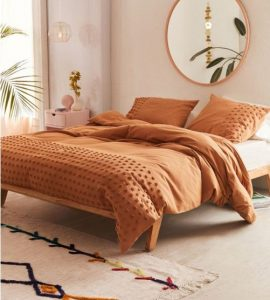 World Market Bobble Stitch Duvet and Pillow Set