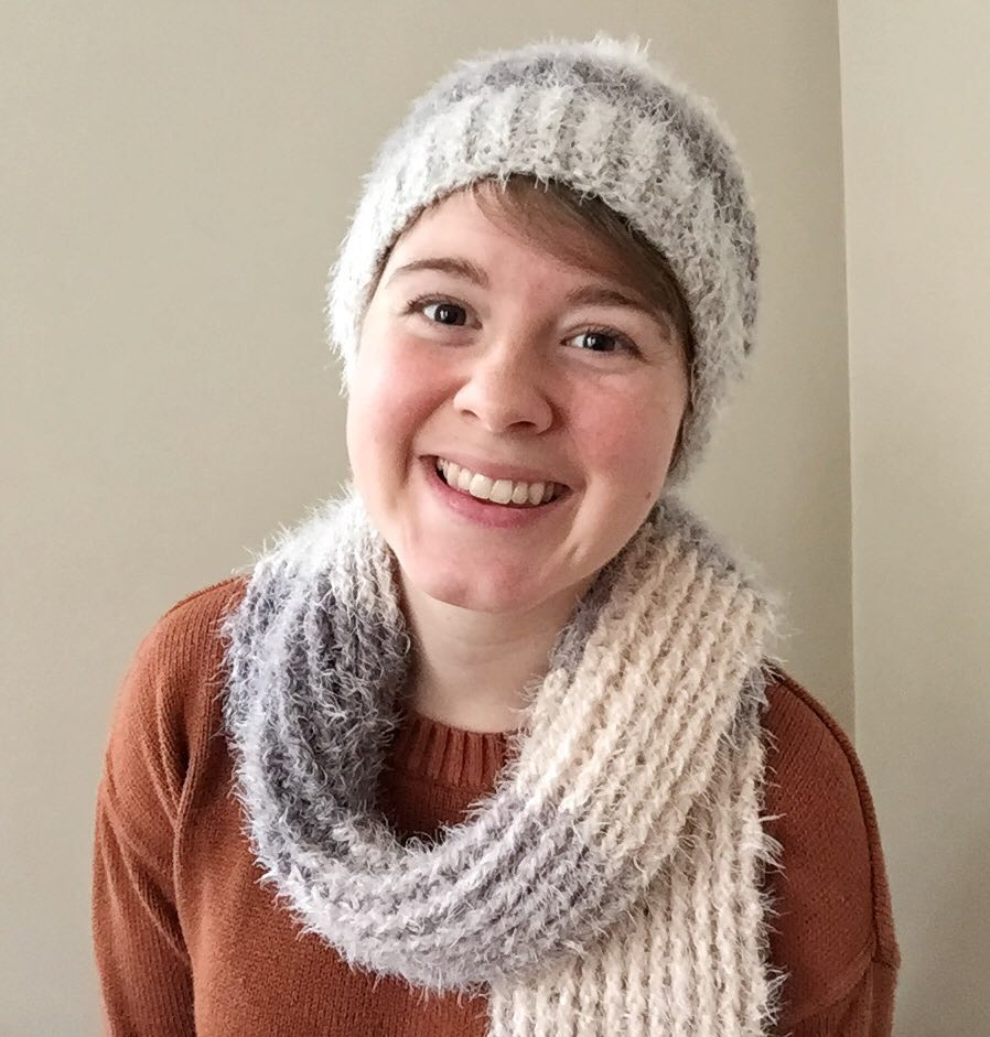 Crochet Hygge Scarf and Hat Pattern