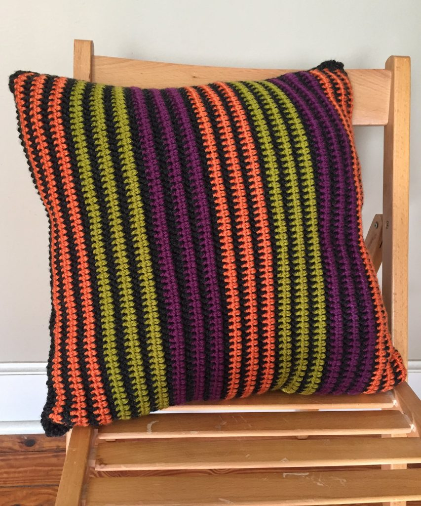 Vertical Striped Pillow Pattern