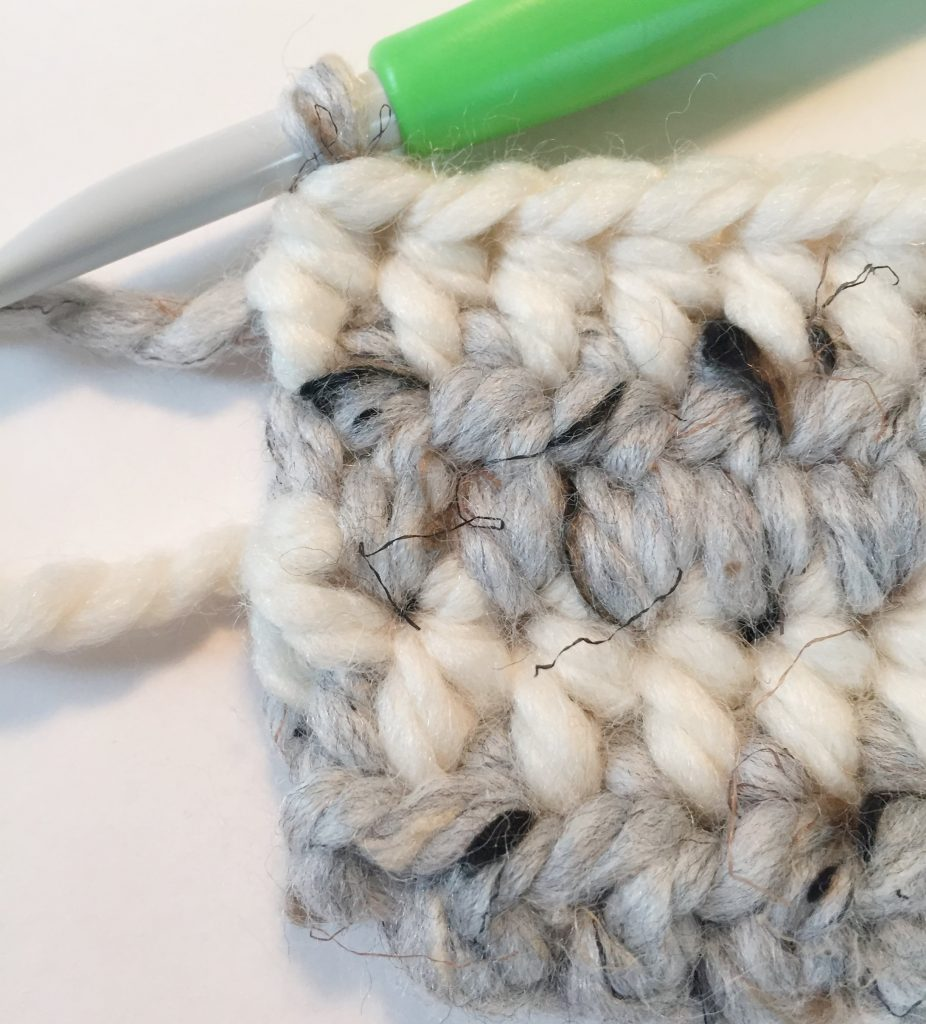 Changing Colour in Crochet