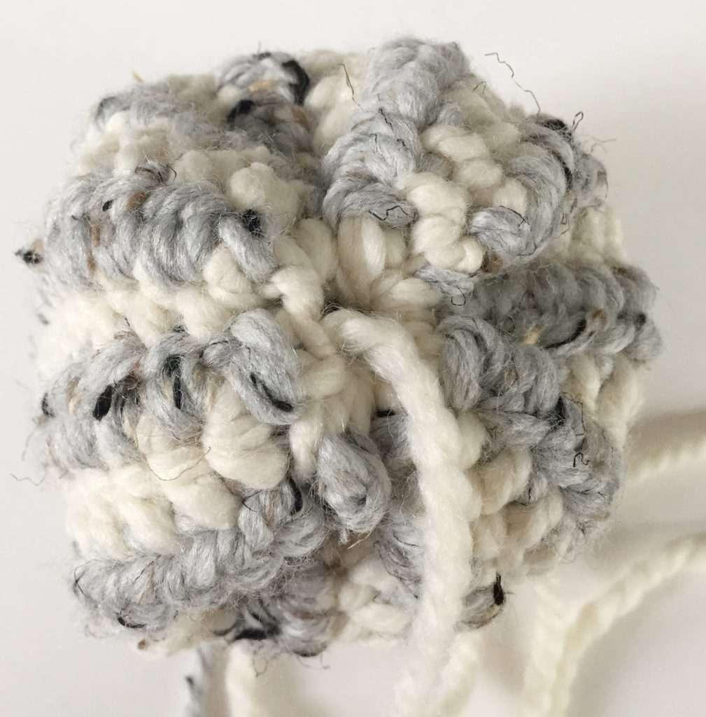 Securing the Bottom of a Crochet Pumpkin