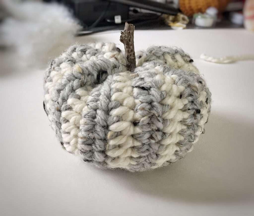 Striped Crochet Pumpkin Tutorial