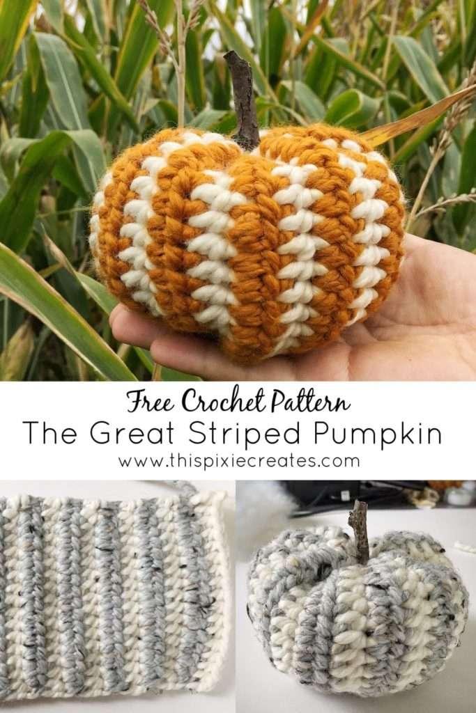 The Great Striped Pumpkin Pinterest Pin