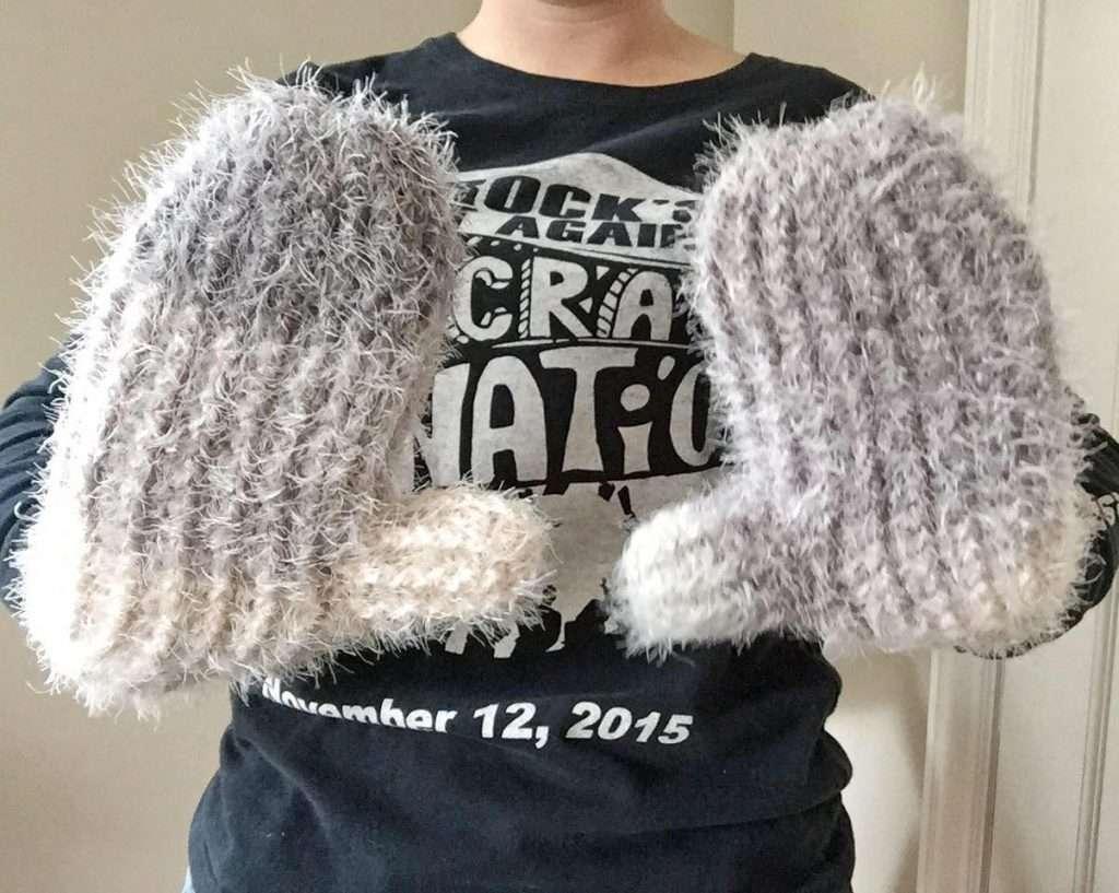 Hygge Crochet Mittens Free Pattern