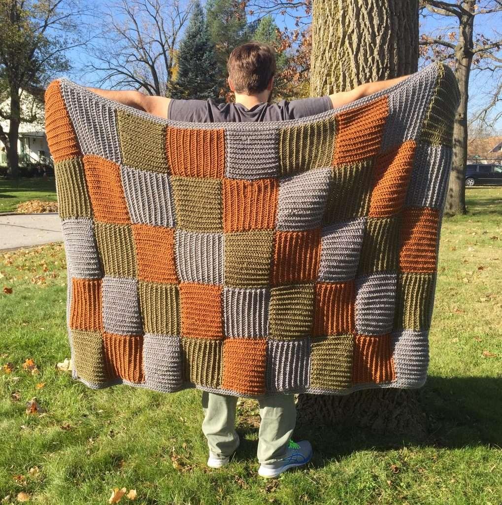 Crochet Quilt Free Pattern