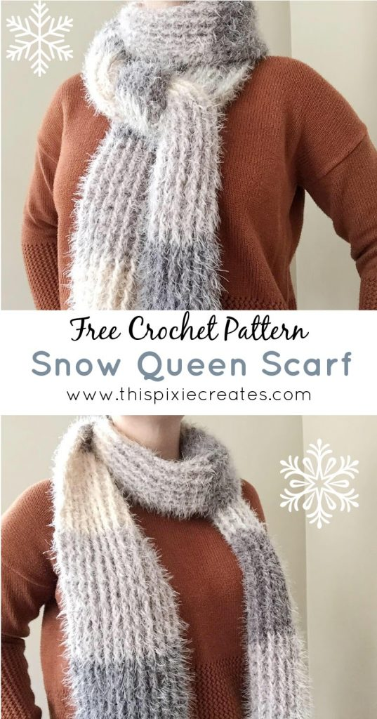Free Crochet Textured Scarf Pattern