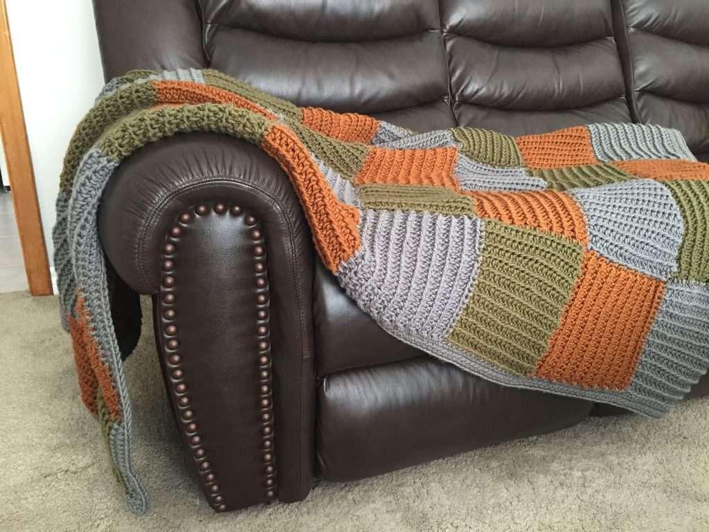 Crochet Quilt Blanket Free Pattern