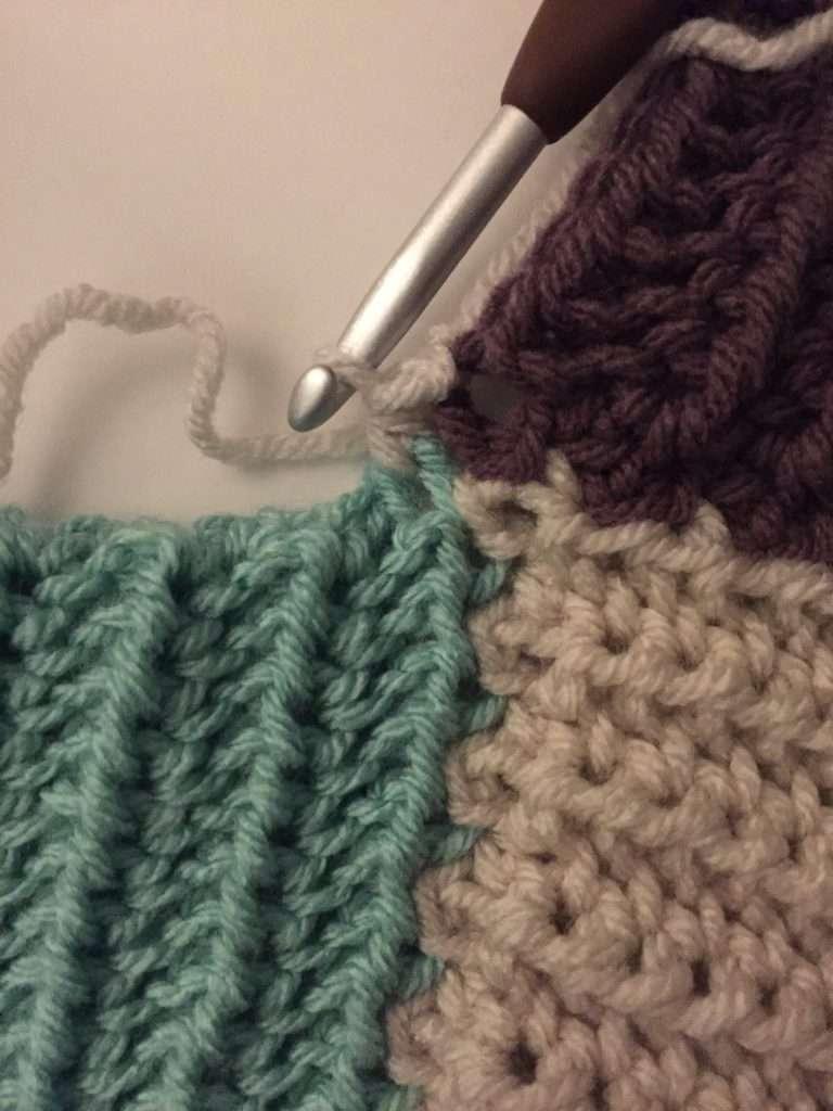 First Half Double Crochet