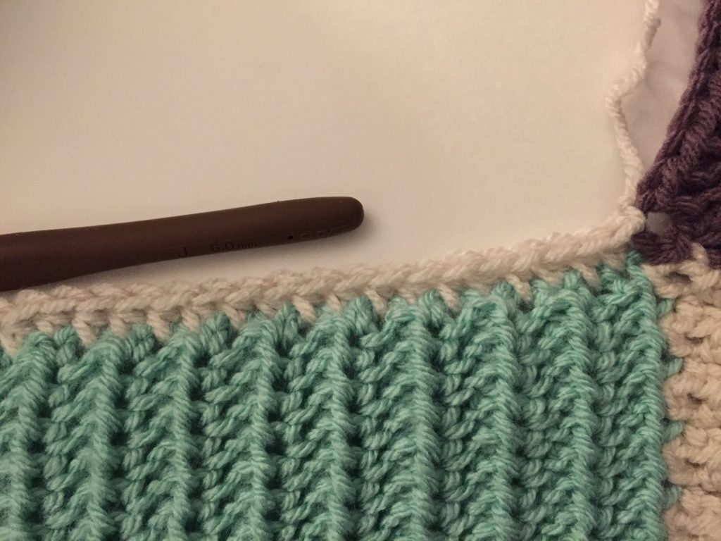 First Row of Square