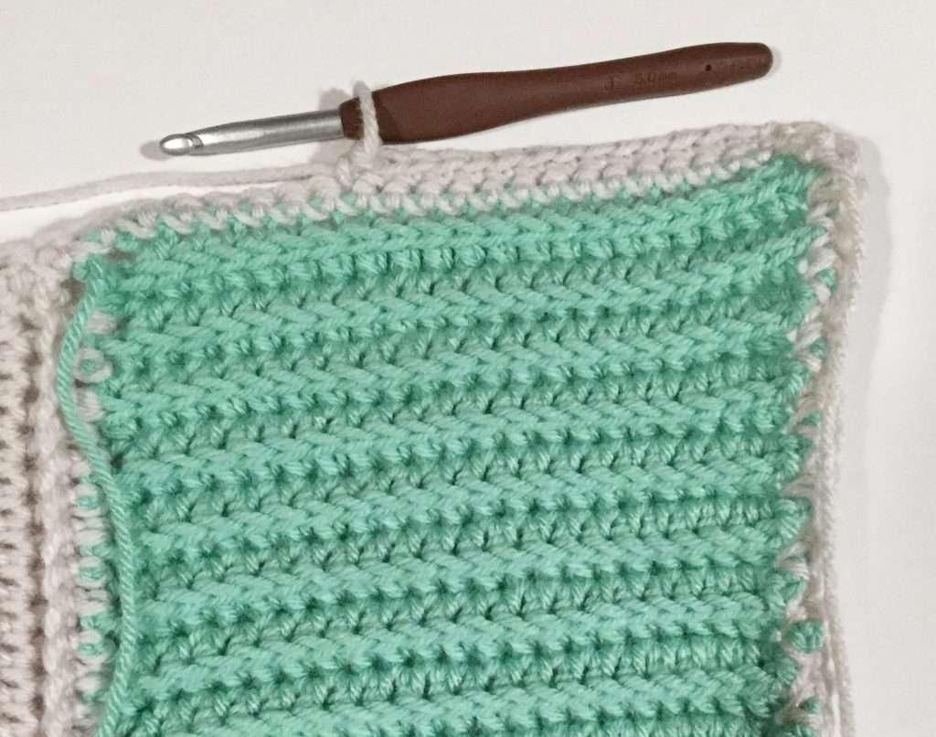 Second Round of Single Crochet