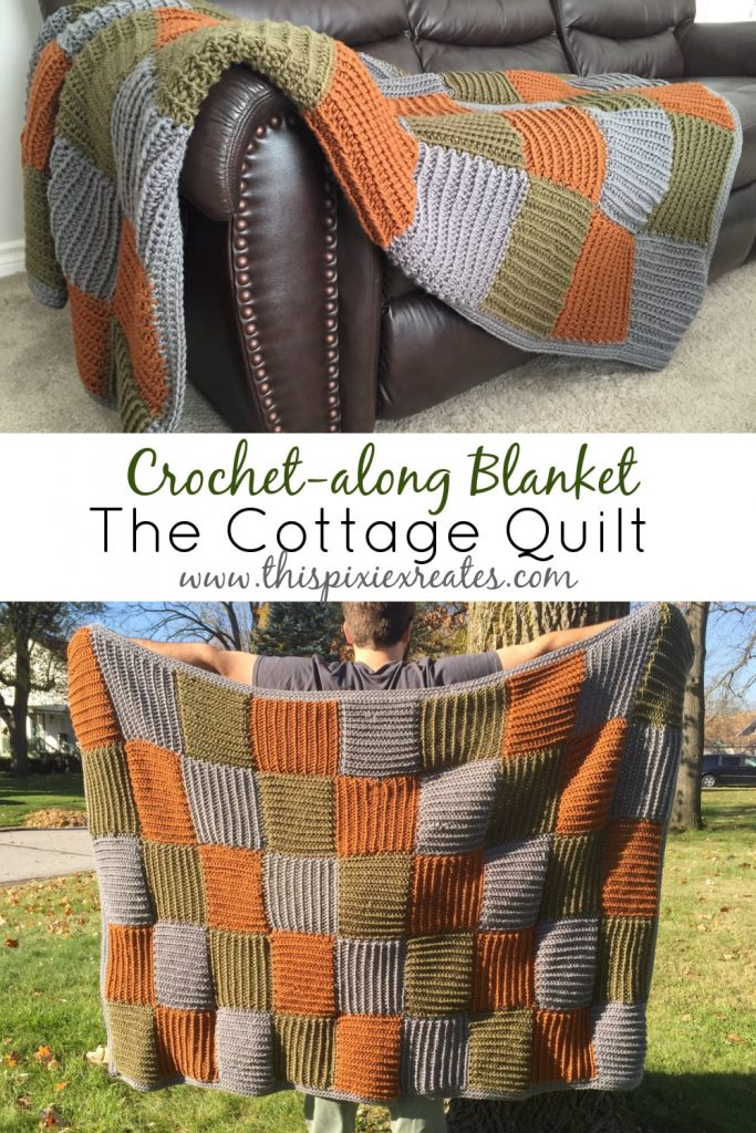 Crochet-along Cottage Quilt Blanket
