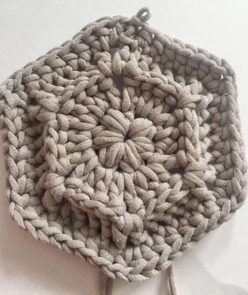 Crochet Hexagon Pattern