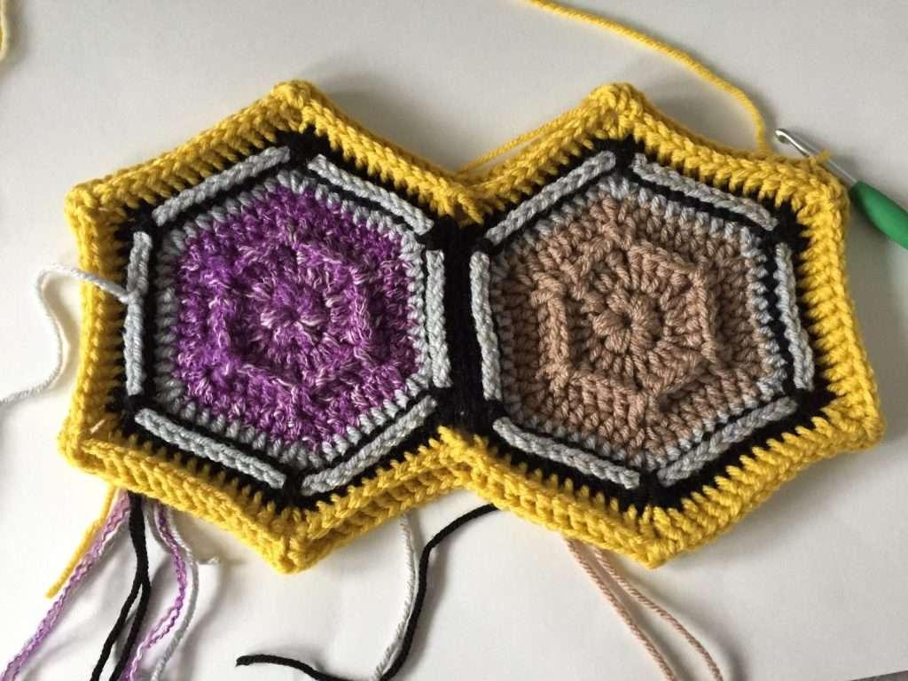 Crochet Border Round 2