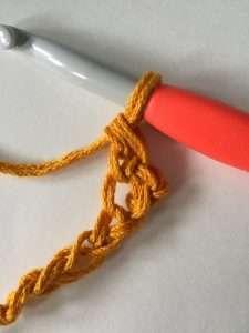 First Stitch in Bookmark