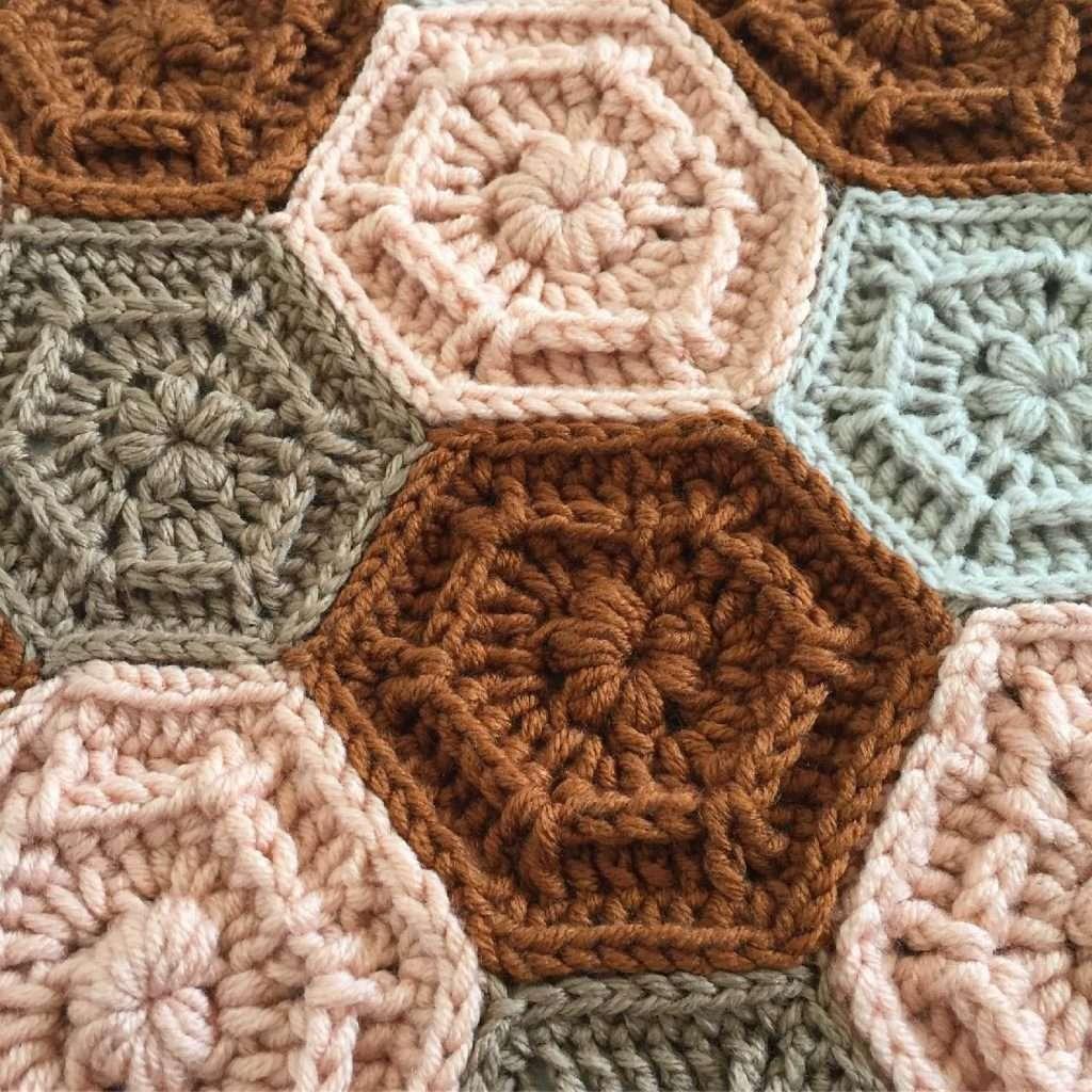 Original Dusk to Dawn Crochet Afghan