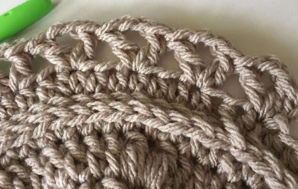 Double Crochet V Stitches