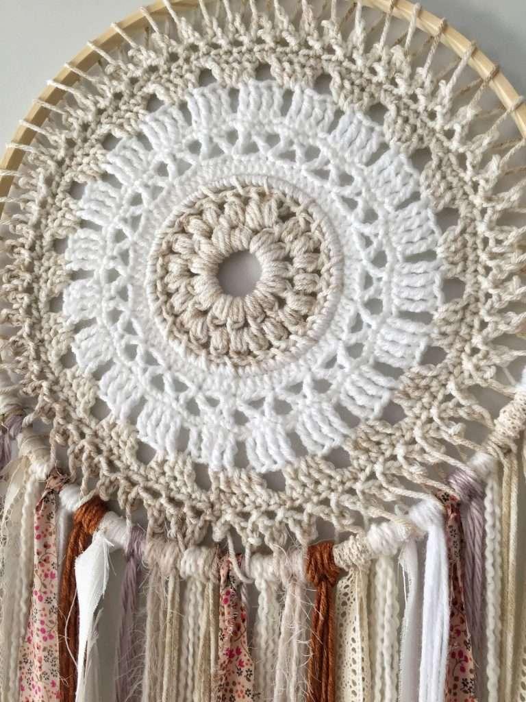 Crochet Dream Catcher Wall Hanging Pattern